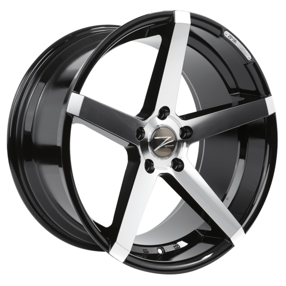 ZP.06 Deep Concave Glanz Schwarz Poliert - Z-Performance Wheels
