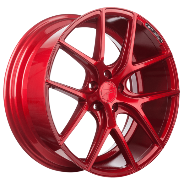 ZP.09 Deep Concave Candy Red - Z-Performance Wheels