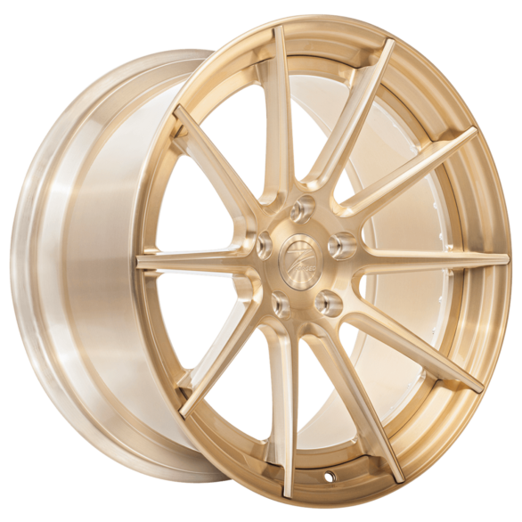 ZP.FORGED 1 Super Deep Concave Royal Gold - Z-Performance Wheels