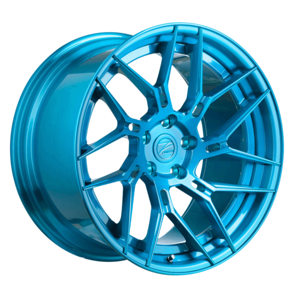ZP.FORGED 5 Super Deep Concave Brushed Royal Blue - Z-Performance Wheels
