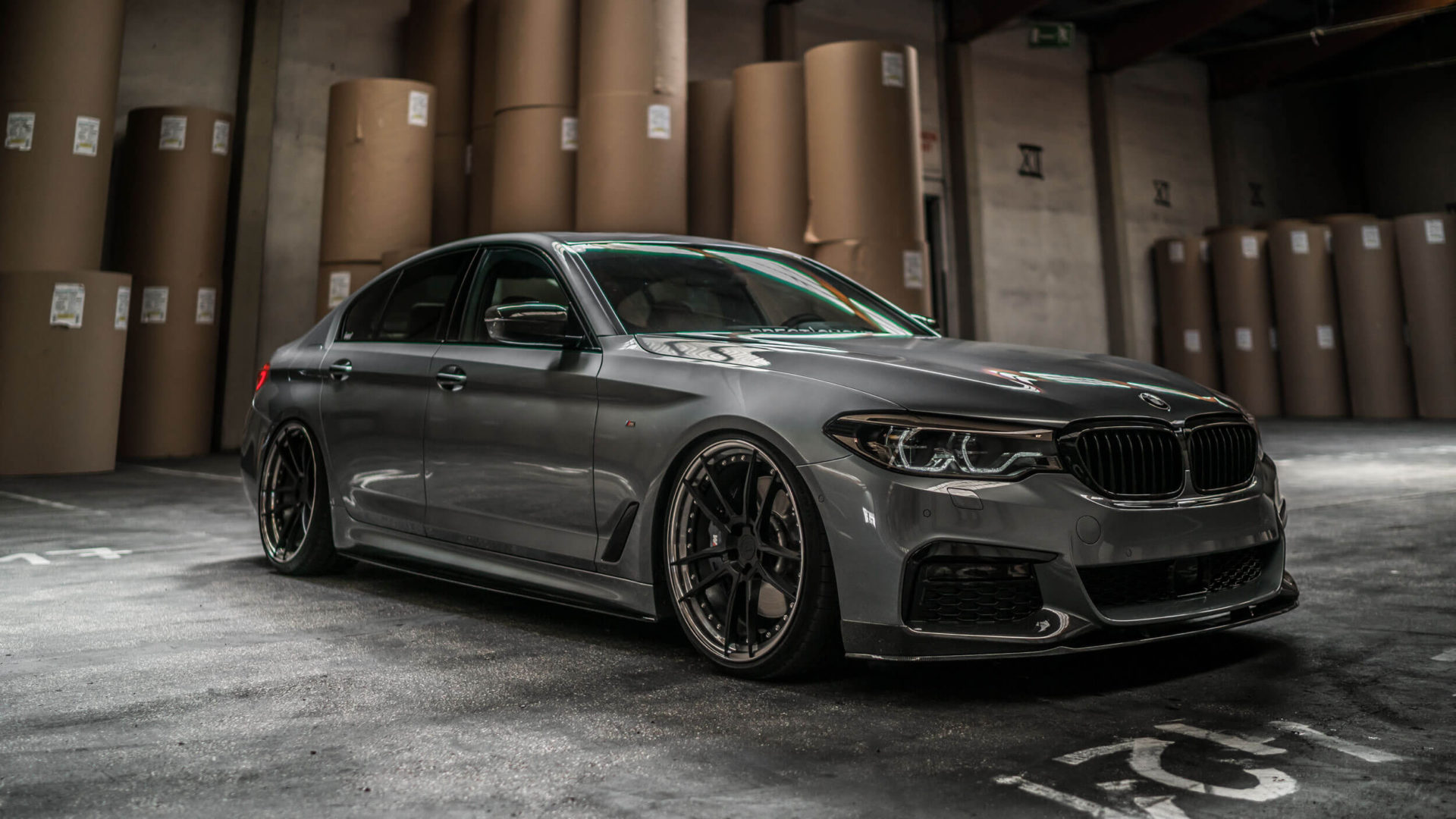 Bmw F90 M5 Competition Alloy Wheels Z Performance Wheels Zp Forged 2 Super Deep Concave In Matte Black Center Gunmetal Polished Lip M D Exclusive Cardesign