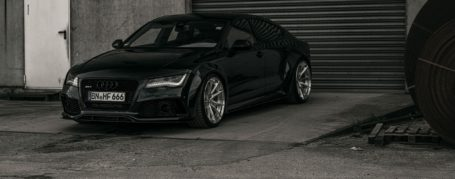 """Audi RS7 C7 Felgen - Z-Performance Wheels - ZP.FORGED 16 Deep Concave Brushed Silver Polished Lip in 11x21"""" & 11,5x21"""""""