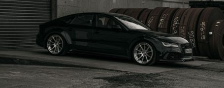 "Audi RS7 C7 Felgen - Z-Performance Wheels - ZP.FORGED 16 Deep Concave Brushed Silver Polished Lip in 11x21"" & 11,5x21"""